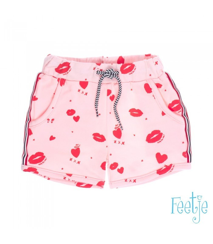 Feetje short roze Fiet Fjieuw Sea View