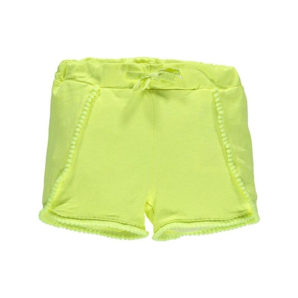 Name-it short neon geel Ibiza style