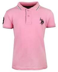 U.S. Polo Assn. roze polo