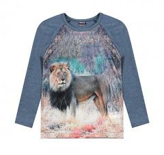 Vinrose longsleeve print leeuw