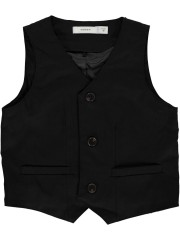 Name-it gilet chique zwart