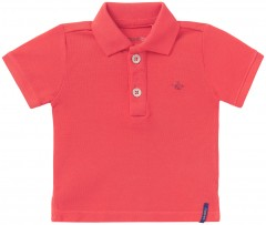 Noppies polo licht rood