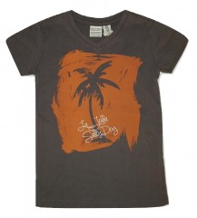 Salty Dog t-shirt palmboom