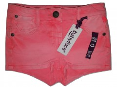 Babyface short jogg denim fluor orange