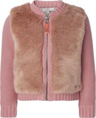 Noppies vest faux fur fluffy roze