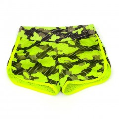 Miss Grant So Twee camouflage short groen