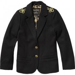 Vingino blazer jas zwart wol