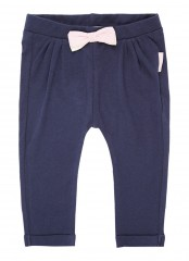 Noppies broek blauw met strik