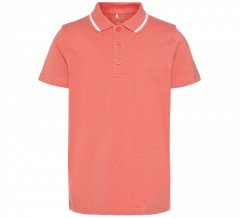 Name-it polo shirt spiced coral