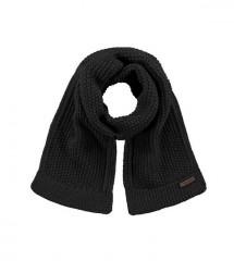 Barts sjaal antraciet grijs gebreid unisex