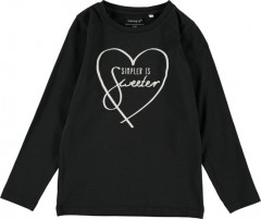 Name-it longsleeve zwart Sweeter