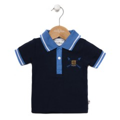Ducky beau polo donkerblauw