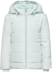 Name-it winterjas pastel blauw