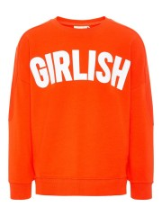 Name-it sweater cherry tomato Girlish