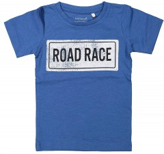Name-it t-shirt delft blauw Road Race