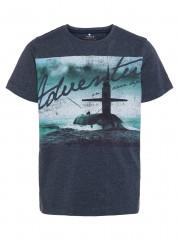 Name-it t-shirt blauw Adventure