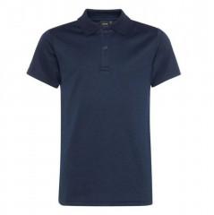 LMTD navy blauw poloshirt