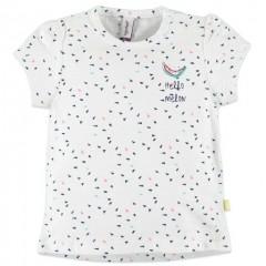 Babyface t-shirt wit Hello Melon