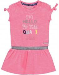 Quapi jurk roze melee Say Hello
