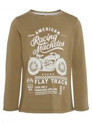 Name-it longsleeve dusky green Racing