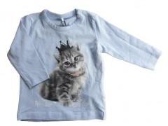 Name-it longsleeve cashmere blauw Poes