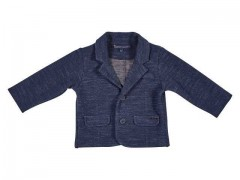 Gymp colbert navy blauw sweat