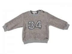Gymp sweater grijs 34 teddy