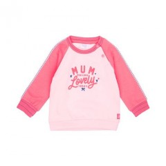 Feetje sweater roze Mum you look lovely