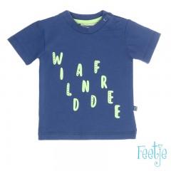 Feetje t-shirt blauw Wild and Free