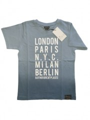 Kids Up t-shirt blauw London