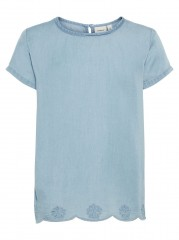 Name-it blouse denim broderie