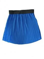 D-Xel rok kobalt blauw plisse