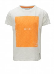 Name-it t-shirt wit neon Wild