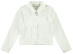 Name-it spijkerjas off white