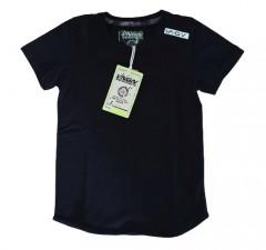 Vingino t-shirt zwart effen Iro