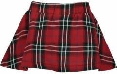 Bampidano rok rood geruit