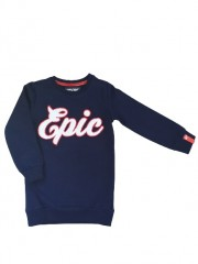4President tuniek sweat blauw Epic