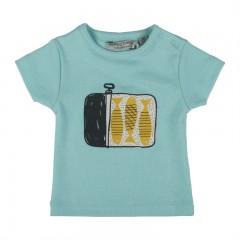 Zero2Three t-shirt aqua Fish