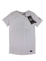 Crush denim t-shirt wit