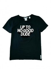 Nik & Nik t-shirt zwart Dude