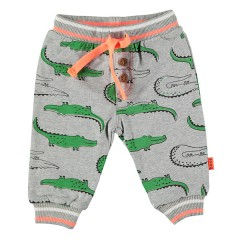BESS broek grijs neon Krokodil