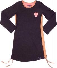 Lovestation22 jurk grijs hart