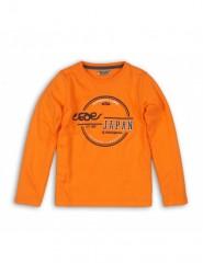 Dutchjeans longsleeve oranje Japan