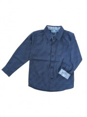Knot so Bad blouse blauw stippen