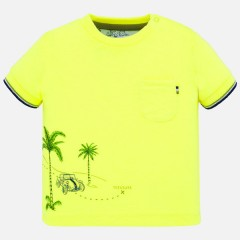 Mayoral t-shirt neon geel