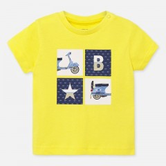 Mayoral t-shirt geel Scooter