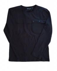Antony Morato longsleeve zwart pocket