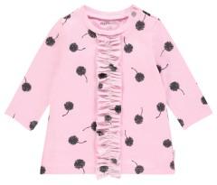 Noppies jurk roze aop