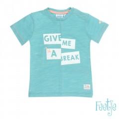 Feetje t-shirt mint Break Pool Party