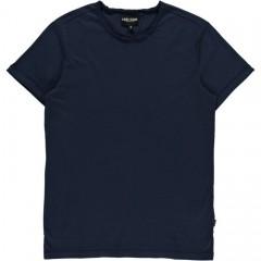 Cars jeans t-shirt effen blauw